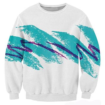 Tops Unisex Women Men 3d Pull the 90s Jazz Solo Paper Cup Crewneck Sweatshirt Fashion Clothing Jersey Sweats Plus Size 5XL