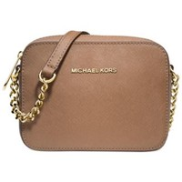 MICHAEL Michael Kors Jet Set Travel Crossbody - Handbags & Accessories - Macy's