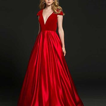 Open Back Ballgown 212212