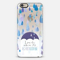 I Smile When It's Raining iPhone 6 case by Tracey Coon | Casetify