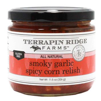 Terrapin Ridge Farms - Smoky Garlic Spicy Corn Relish, 11.5 oz