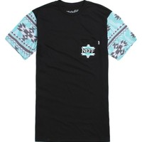 Neff Zebrajo Sleeve T-Shirt - Mens Tee - Black