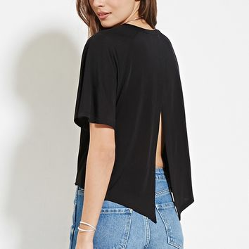 Contemporary Layered-Back Top