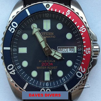 CITIZEN PROMASTER AUTOMATIC 200m NY2300-09GB