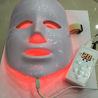 Skin care facial mask light therapy beauty device
