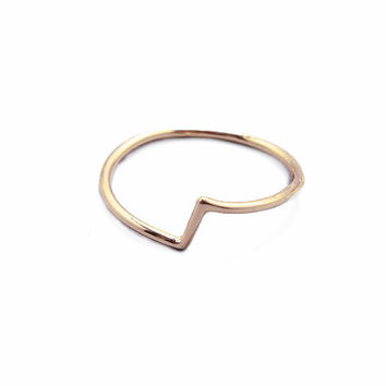 Reverse Ring - Gold