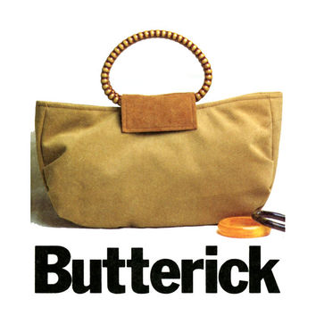 Handbags Sewing Pattern UNCUT Butterick B4088 2003© Modern or Boho Shoulder Bags and Purses for Day or Evening Womens OOP Sewing Patterns