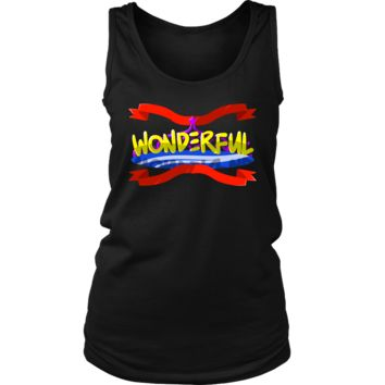Superb Wonderful Inspirational Motivational Women's Tank