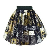Hemet Edgar Allen Poe Inspired Skirt