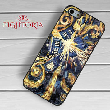 Tardis explode - z321z for iPhone 6S case, iPhone 5s case, iPhone 6 case, iPhone 4S, Samsung S6 Edge