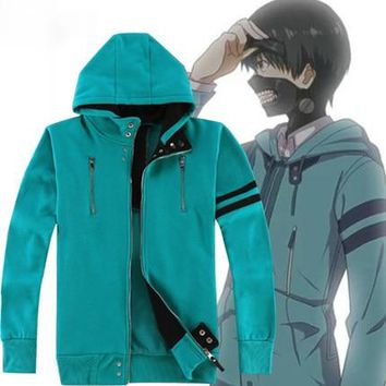 6 Styles Anime Tokyo Ghoul Kaneki Ken Cosplay Costume Unisex Hoodies Hooded Cardigan Jacket