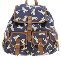 ASOS Horse Print Backpack at asos.com