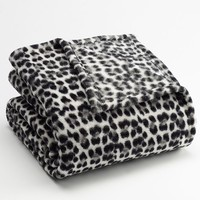 Cuddl Duds Plush Throw with Foot Pocket