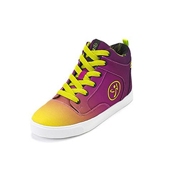 Zumba Womens Rio Street Fresh Colorblock High Top Dance Shoes