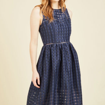 Ever-So-Engaging Midi Dress