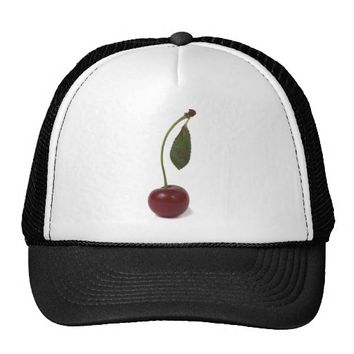 Red cherry berry: The Graduate Trucker Hat