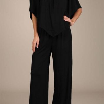 Black 4 Way Convertible Top Jumper