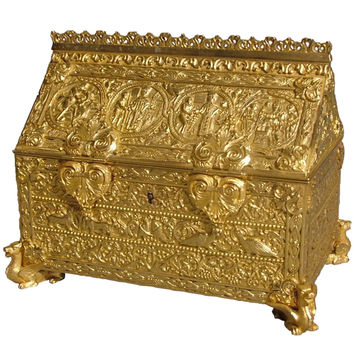 A Fine Antique Jewellery Casket