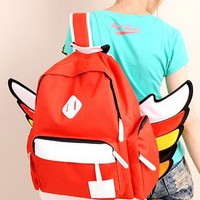Color Fashion Wing Backpack