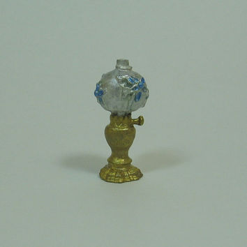 Dollhouse Miniature Old Fashioned Table Lamp