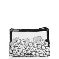 **Cat Face Make Up Bag by Skinny Dip - New In This Week - New In