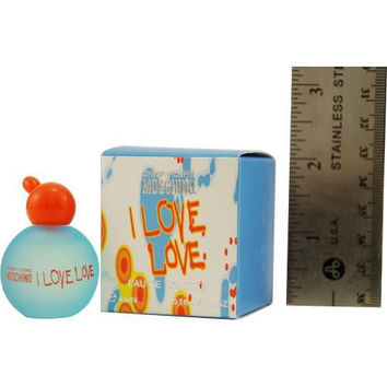 i love love edt .17 oz mini by moschino Case of 2