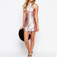 Sister Jane Metallic Shift Dress