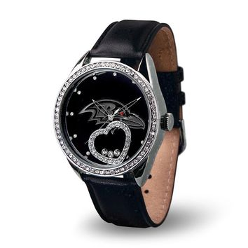 Baltimore Ravens NFL Beat Series Women's Watch