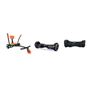 Pro Bundle - Pro UL2272 Hoverboard Orange HoverKart & Carry Bag Bundle