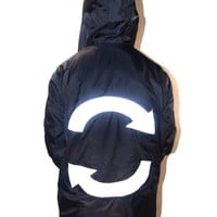 Rotation Theme Hooded Windbreaker