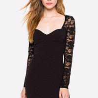Love And Lace Bodycon Dress
