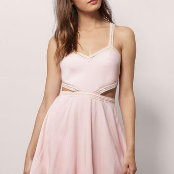 Flirty Sherry Skater Dress
