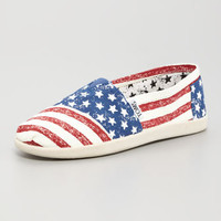 Stars and Striped Canvas Shoe, Youth