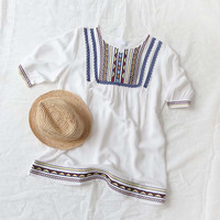 Chelan Embroidered Tunic
