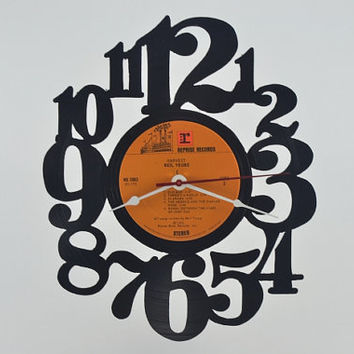 Vinyl Record Album Wall Clock (artist is Neil Young)