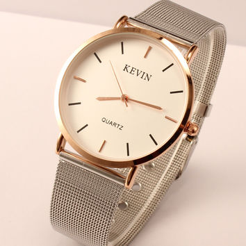 New Arrival Awesome Designer's Gift Great Deal Good Price Trendy Stylish Men Watch Simple Design Couple Watch [4915483460]