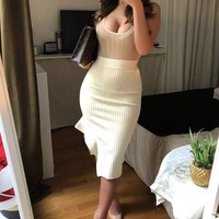 Dray Bodycon Two Piece set