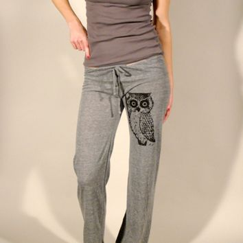 Supermarket: Owl Eco Grey Pant  from Branch Handmade