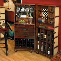 Ivory Stateroom Bar - Bars & Barstools - Dining Room, Kitchen & Bar - Furniture - PoshLiving