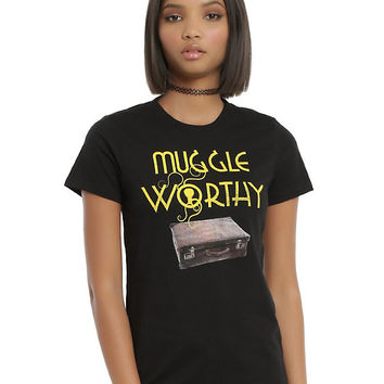 Fantastic Beasts And Where To Find Them Muggle Worthy Girls T-Shirt