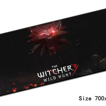 witcher padmouse 700x300mm pad to mouse notbook computer mousepad High-end gaming mouse pad gamer to Popular laptop mouse mat