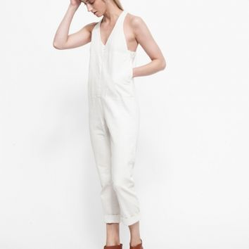 Rachel Comey / Buxton Jumpsuit in White Denim