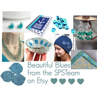 Beautiful Blues from the SPSTeam on #Etsy