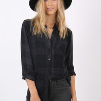 Rails Hunter Button-Down - Jet