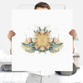 Mental Health Art   Therapy Art   Psychology Art   It Makes A Perfect Psychology Gift   Therapy Decor   Rorschach Inkblot   Digital Download
