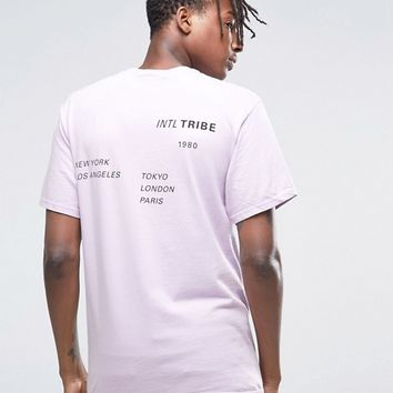 Stussy Worldwide T-Shirt With Back Print at asos.com