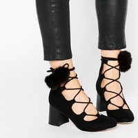 ASOS RICOCHET Lace Up Ankle Boot