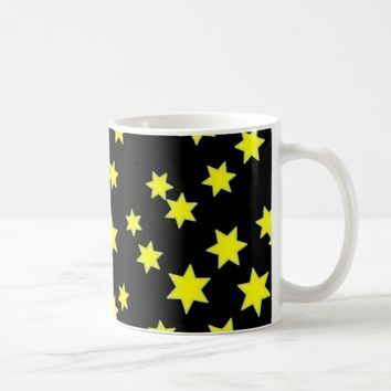 Yellow Stars Coffee Mug