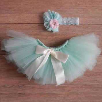 Newborn Baby Girls Boys tutu Skirt Costume Photo Photography Prop Outfits photography prop Skirt with head band