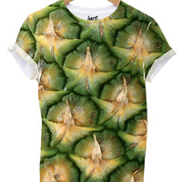 Large Pineapple all over t shirt